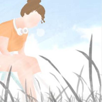 十二星座人物插画系列图