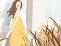 十二星座女孩时尚插画