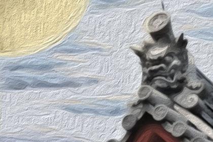 鹤和红掌的区别图片图片