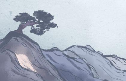 紫萼花語:思念、浪漫、喜悅