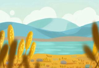 小满小满,麦粒渐满:小满田间图片
