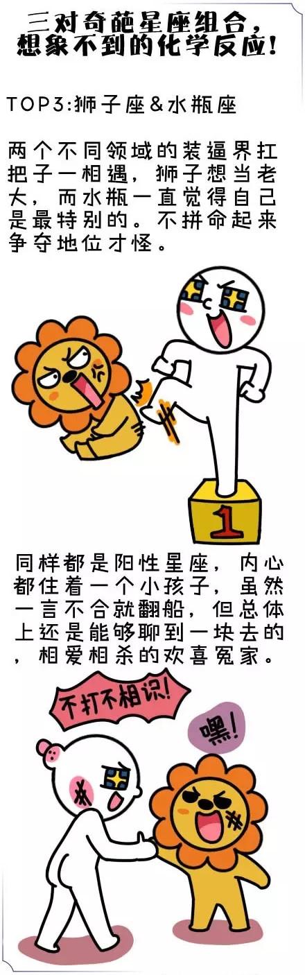 狮子座&水瓶座